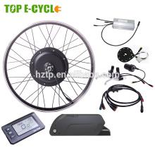 Kit de vélo électrique de gros vélo de la CE / kit de vélo électrique de 48v 1000w avec la batterie