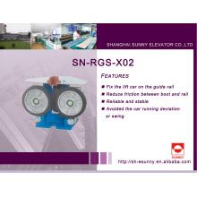 Zapato de guía de rodillo para el elevador (SN-RGS-X02)