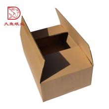 Embalagem descartável grande criativa do papel da caixa do logotipo feito sob encomenda quente da venda