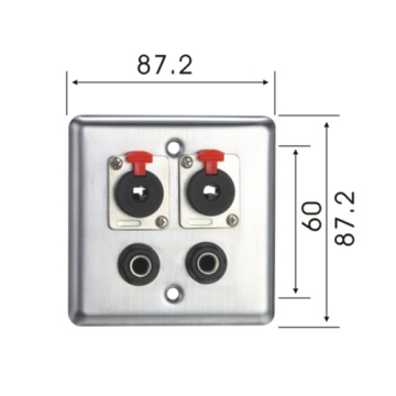 Amplifier Speaker Binding Post