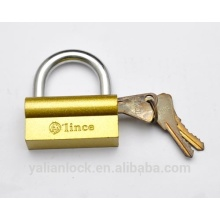China Suppliers Top Security Camel Brass Padlock with Polished Brass Plated iron padlock