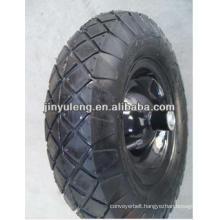 """pneumatic rubber wheel tyre 16""""x4.00-8"""