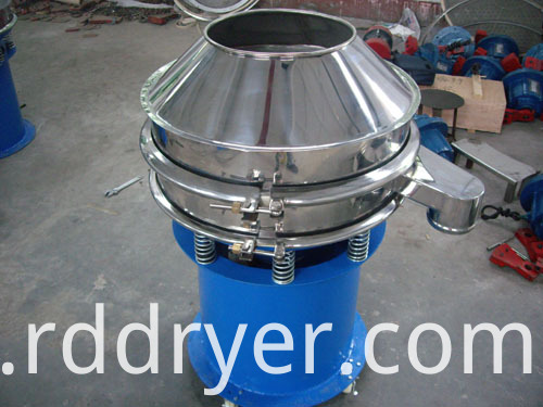 Buckwheat vibrating sieve for grading