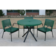 Decorative Perforated Sheet Metal Garden Table Coffee Table