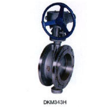 Válvula Borboleta em Aço Fundido Wcb (D343H)