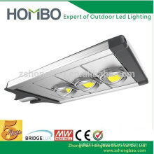 Luz de calle solar de la COB LED de 120W 12M 2cd / m 5 años de garantía
