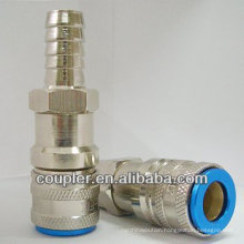Single one hand shut off quick coupler for Asia Market