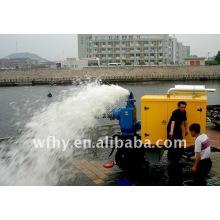 Ensemble pompe à eau diesel 400m3 / h