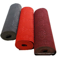 Одноцветный тисненый коврик для гостиной