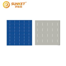 High efficiency 5BB triple junction solar cell paint polycrystalline silicon