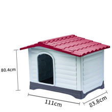 new large dog house house outdoor pet warm plastic without iron door