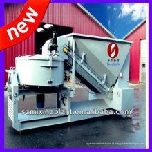 Pequena 10-20m3 / h planta de processamento de concreto portátil para venda, lote de concreto / preço de planta de mistura com desempenho de lote elevado