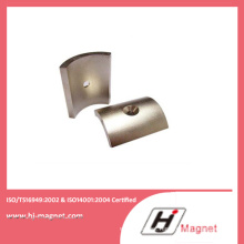 N42 Strong Rare Earth Permanent Sintered Arc Neodymium Magnets