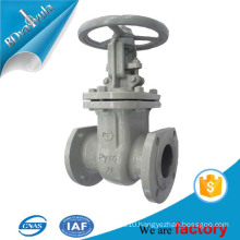 only the casted gost standard gate valve in carbon steel with hand wheel