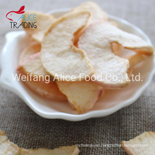 New Crop Healthy Snack Fruits Supplier China Made Fried Apple Slice Crispy VF Apple Fruits