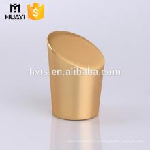 capuchon de pulvérisateur de parfum magnétique en métal zamac