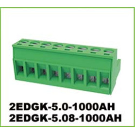 5,0 mm Pitch Green Connector PCB-skruvplintblock