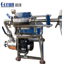 High Quality Sanitary Stainless Steel Wine Plate Frame Filter