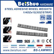 Aço Adesivo Peso da roda de equilíbrio 5 + 10