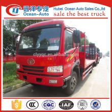 FEW 4 * 2 plataforma del carro de remolque, camión eléctrico de la plataforma para la venta