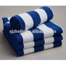 stripe cotton print towel