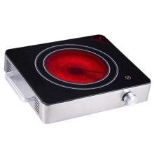 Poêle en céramique infrarouge de brûleur simple d'approbation de l'appareil de cuisine CB