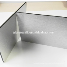 Brushed silver acm / acp cladding for building material price