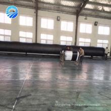 Atterrissage de barge et lancement de sac gonflable de bateau gonflable