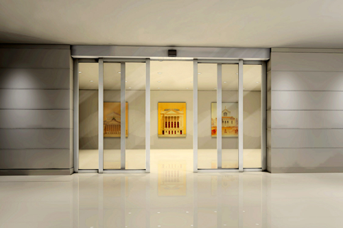 Automatic Sliding Doors for Shopping Centers