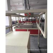 Chaîne de production de panneau de mousse de PVC Celuka Chaîne en plastique