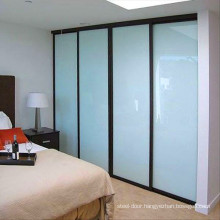 Commercial price wardrobe aluminium glass door designs