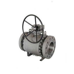 API 3PC Flange Trunnion Ball Valve