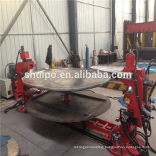 Trustworthy China supplier pipe shaping machine for sale Elliptical Head Shearing and Flanging Machine