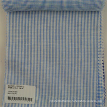 professional breathable linen fabric for shirt stripe linen fabric