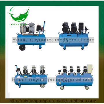 24L / 50L / 150L / 300L silencioso libre de aceite silencioso compresor de aire