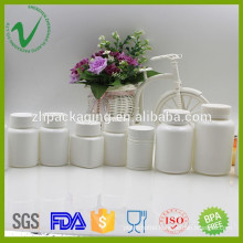 Customized HDPE round empty pharmaceutical plastic bottle for pill packing
