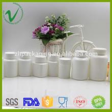 Индивидуальная полиэтиленовая пластиковая бутылка из HDPE для упаковки в таблетку