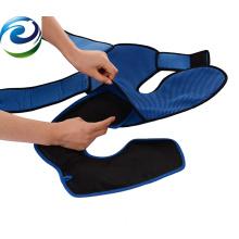 Prevenga la inflamación Material de nylon Rodillera con bolsa de hielo