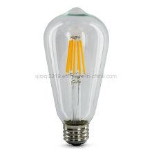 6.5W St64 220V COB LED Filament Bulb