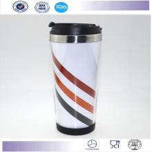 Nuevo doble de Starbucks Logo taza 16 Oz taza de café, taza de la impresión