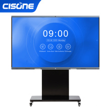 educational equipment online teaching meeting led smart tv display board for tv mesa interactiva video meeting smart touch panel