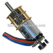 low power high torque 5V dc gearbox with n20 motor