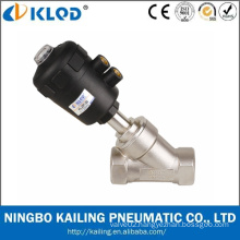Pneumatic Power Stainless Steel Body Angel valve
