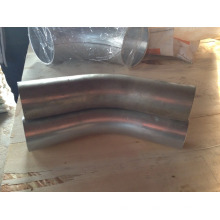 76 mm de diámetro 45 grados de alta presión galvanizado en polvo aspirador industrial curva