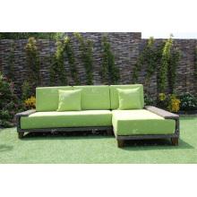 El más nuevo diseño del sofá del sofá de los muebles del jardín de la rota del PE