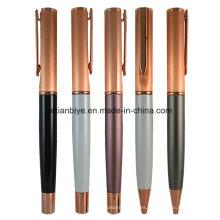 Fábrica precio oro cobre pluma del Metal con Logo (LT-C450)