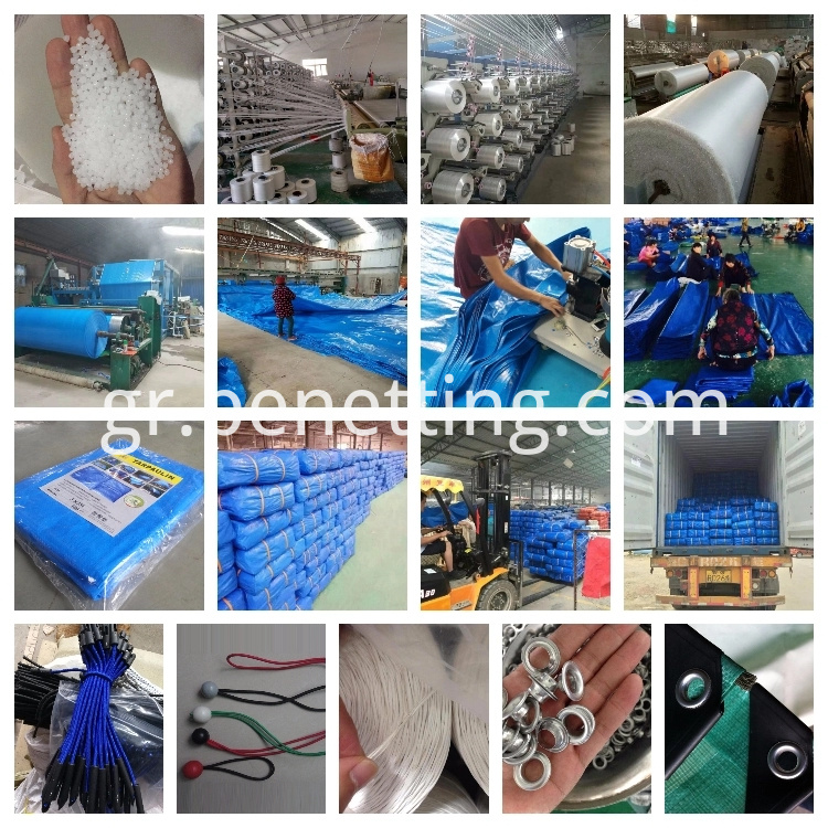 tarpaulin production line