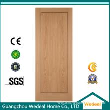 Puerta de chapa de madera de caoba de alta calidad para casas
