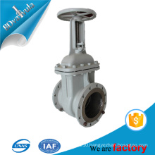 Exaust person exaust standard gate valve in steel material BD VALVULA