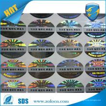Hochwertiger Anti-gefälschter Laserfischaufkleber